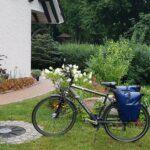 Radfahren und Mecklenburgische Kleinseenplatte 1.Tag